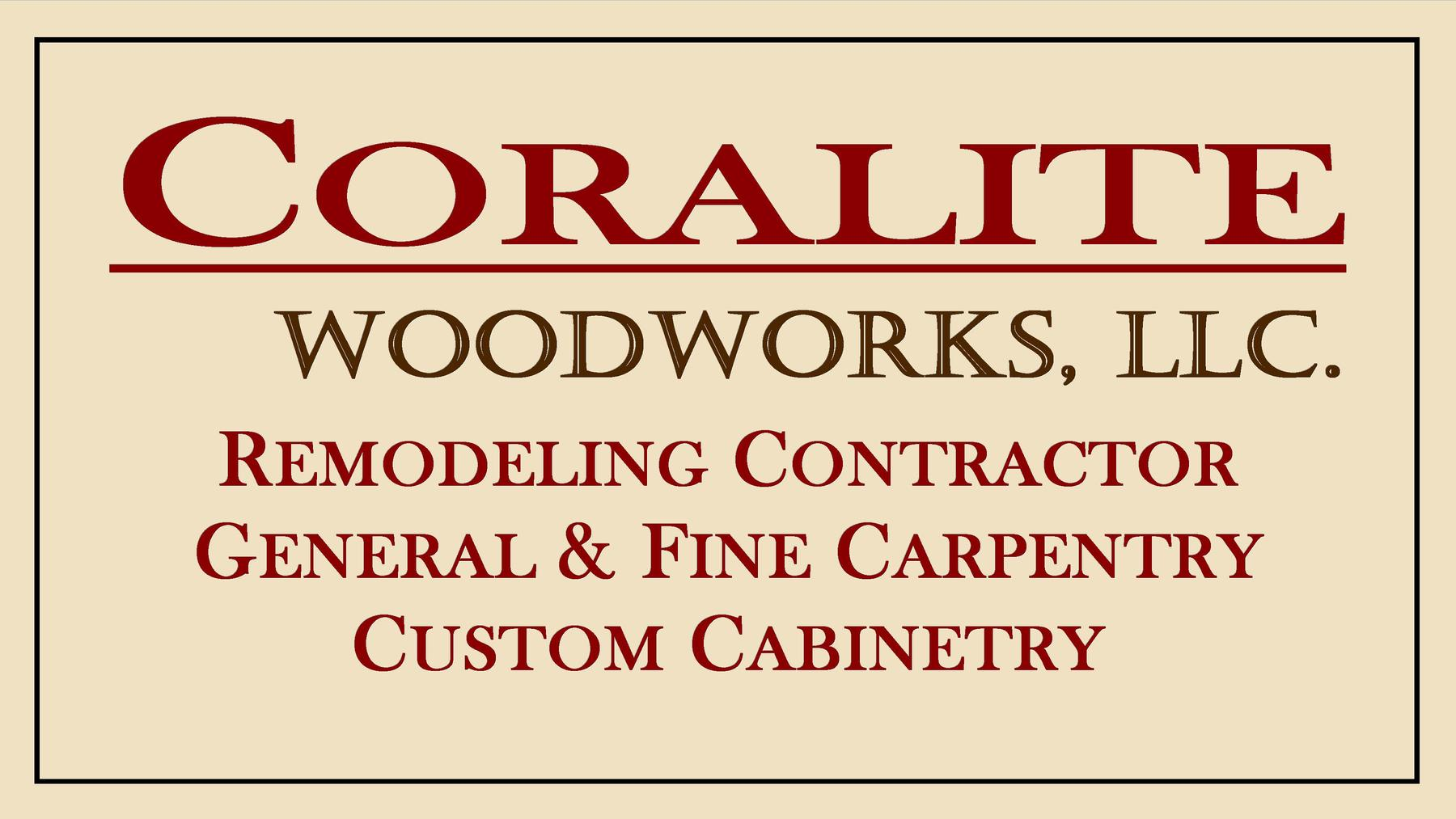Coralite Woodworks, LLC.