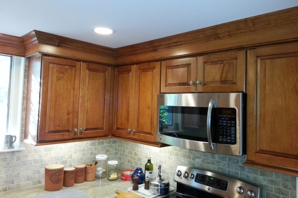 Stock Stained Maple Cabinets